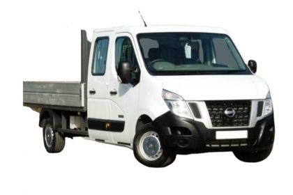 Nissan NV400 Dropside Double Cab L3 35 FWD 2.3 dCi FWD 135PS Tekna Dropside Double Cab Manual