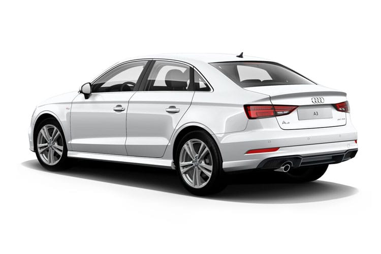 Audi A3 S3 Saloon quattro 4Dr 2.0 TFSI 310PS  4Dr S Tronic [Start Stop] [Comfort Sound] back view