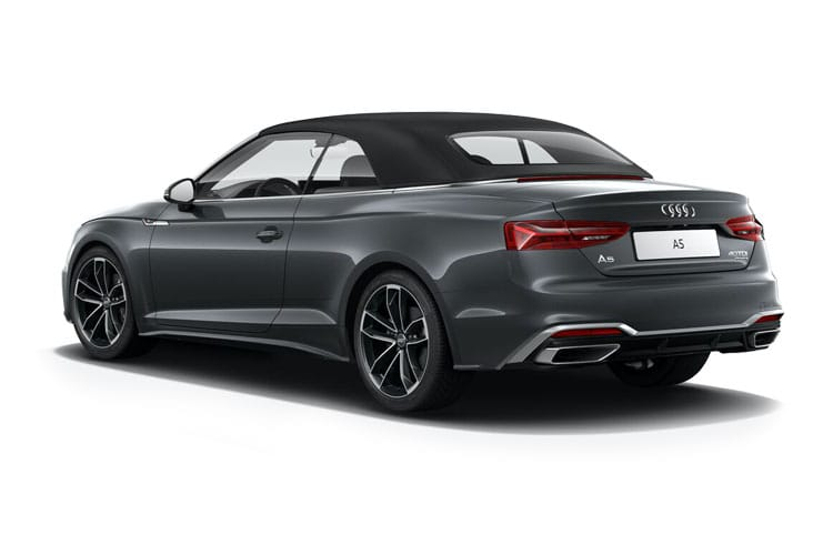 Audi A5 40 Cabriolet quattro 2Dr 2.0 TDI 204PS Edition 1 2Dr S Tronic [Start Stop] [Comfort Sound] back view