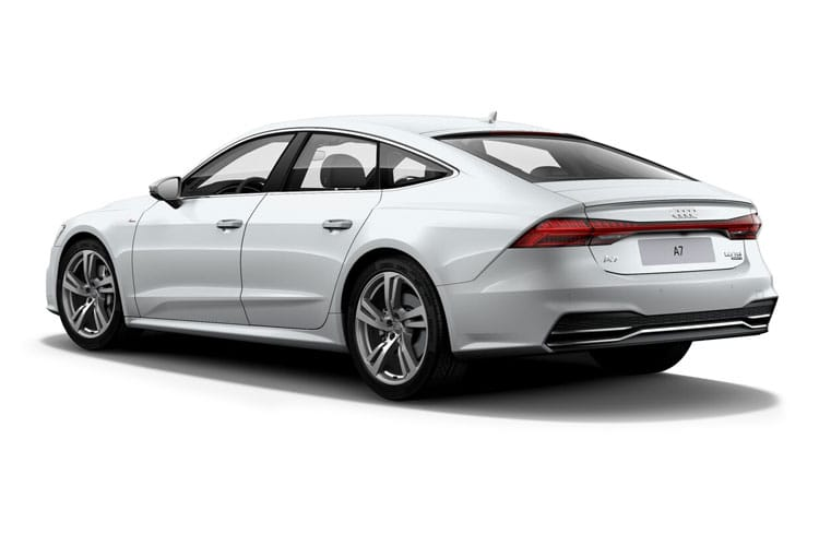 Audi A7 55 Sportback quattro 5Dr 3.0 TFSI V6 340PS Sport 5Dr S Tronic [Start Stop] [Comfort Sound] back view