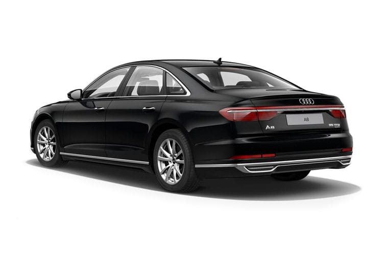 Audi A8 S8 Saloon quattro 4Dr 4.0 TFSI V8 571PS Vorsprung 4Dr Tiptronic [Start Stop] back view