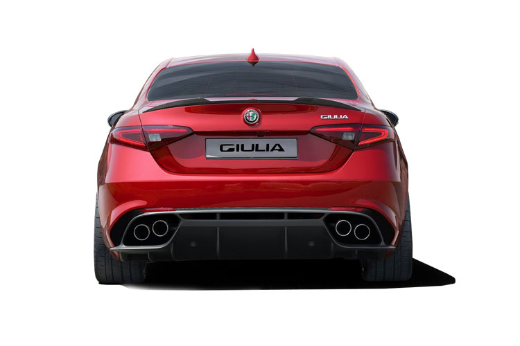 Alfa Romeo Giulia Saloon 2.0 T 200PS Lusso Ti 4Dr Auto [Start Stop] [Driver Assistance Plus] back view