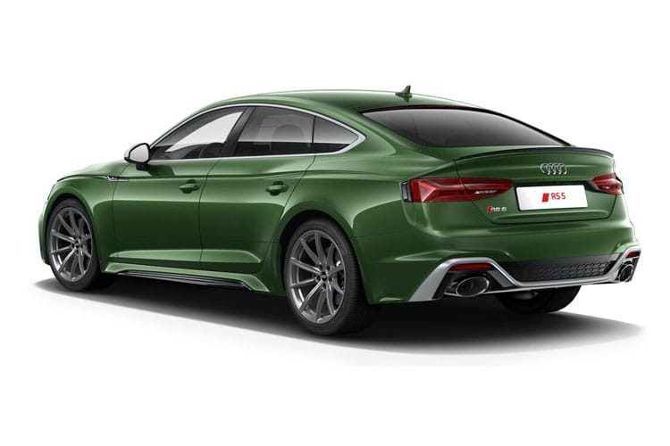 Audi A5 40 Sportback quattro 5Dr 2.0 TDI 190PS Black Edition 5Dr S Tronic [Start Stop] back view