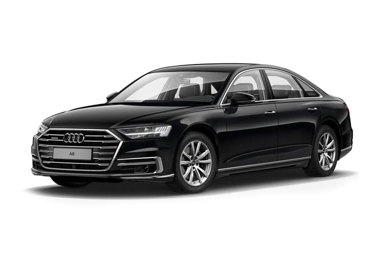 Audi A8 50 Saloon quattro LWB 4Dr 3.0 TDI V6 286PS Black Edition 4Dr Tiptronic [Start Stop] [Comfort Sound] front view