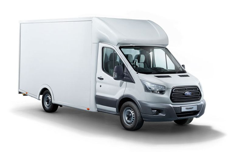 Ford Transit 350HD L3 RWD 2.0 EcoBlue DRW 170PS Leader Luton Manual [Start Stop] front view