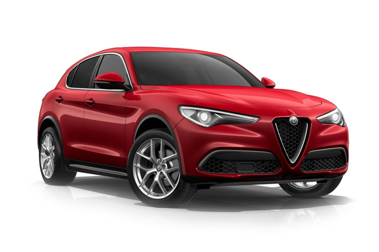 Alfa Romeo Stelvio SUV Q4 AWD 2.0 T 200PS Super 5Dr Auto [Start Stop] [Driver Assistance Plus] front view
