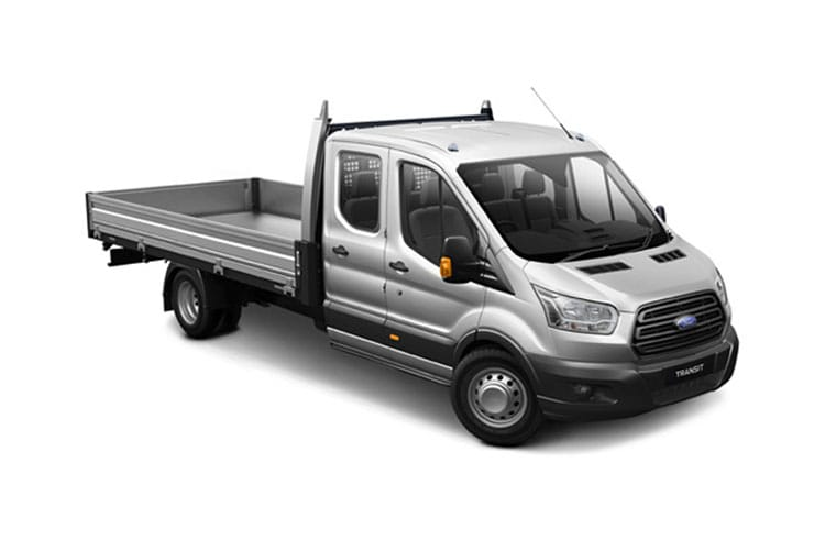 Ford Transit 350 L3 RWD 2.0 EcoBlue RWD 130PS Leader Tipper Manual [Start Stop] [1Way 1Stop Aluminium Tool Pod] front view