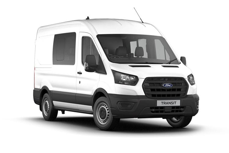 Ford Transit 350 L3 2.0 EcoBlue FWD 130PS Trend Crew Van High Roof Manual [Start Stop] [DCiV] front view
