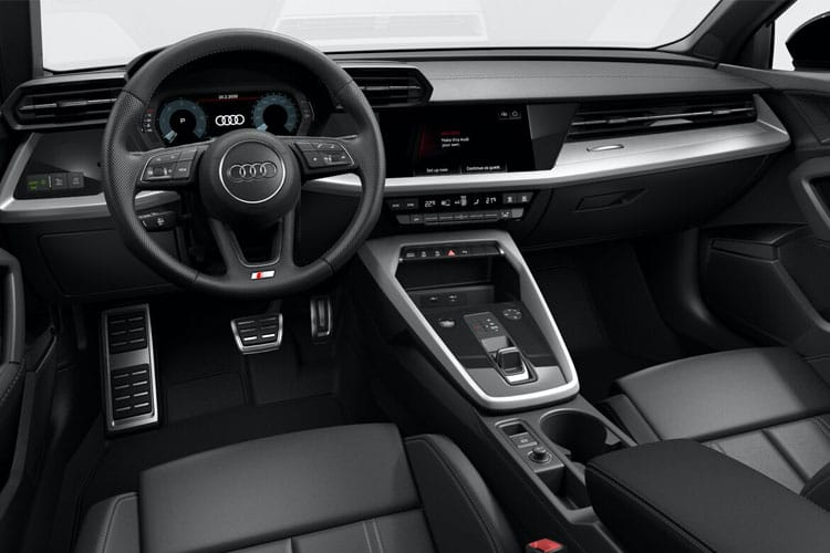 Audi A3 30 Sportback 5Dr 2.0 TDI 116PS S line 5Dr S Tronic [Start Stop] [Comfort Sound] inside view