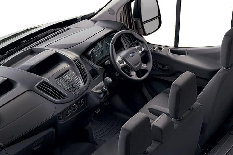 Ford Transit 350HD L3 RWD 2.0 EcoBlue DRW 170PS Leader Luton Manual [Start Stop] inside view