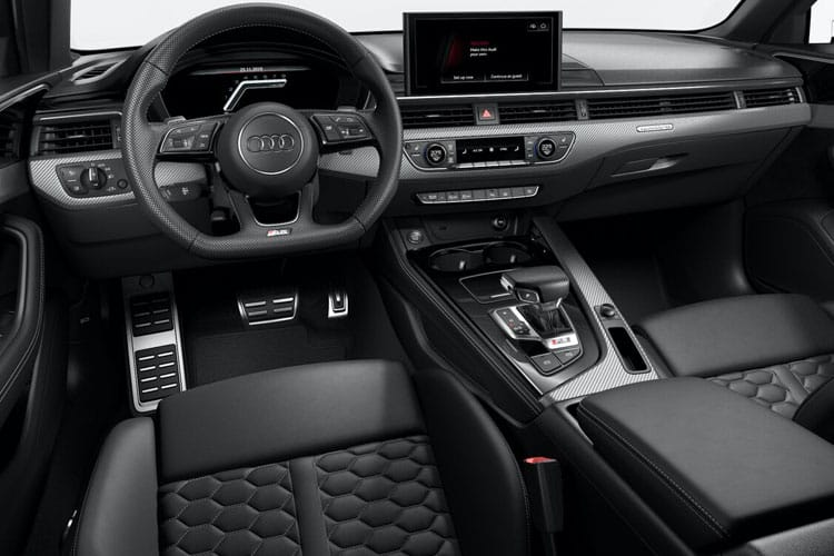 Audi A4 35 Avant 5Dr 2.0 TDI 163PS Black Edition 5Dr S Tronic [Start Stop] [Comfort Sound] inside view