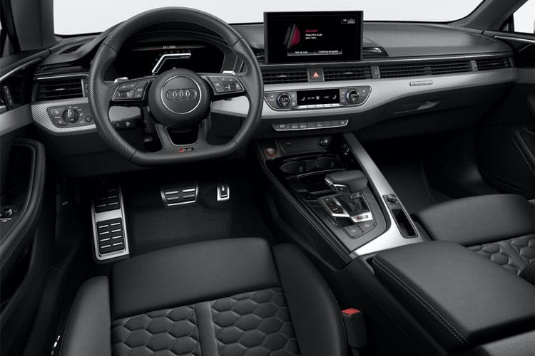 Audi A5 40 Sportback quattro 5Dr 2.0 TDI 190PS Black Edition 5Dr S Tronic [Start Stop] inside view