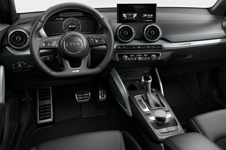 Audi Q2 35 SUV 5Dr 1.5 TFSI CoD 150PS Black Edition 5Dr S Tronic [Start Stop] inside view