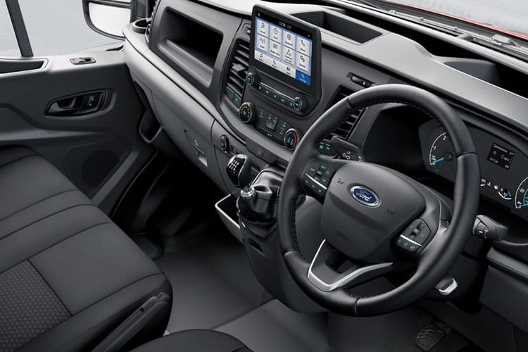 Ford Transit 350 L3 AWD 2.0 EcoBlue 4WD 130PS Leader Premium Dropside Manual [Start Stop] inside view