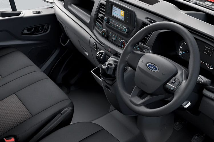 Ford Transit 350 L3 2.0 EcoBlue FWD 130PS Leader Chassis Cab Auto [Start Stop] inside view