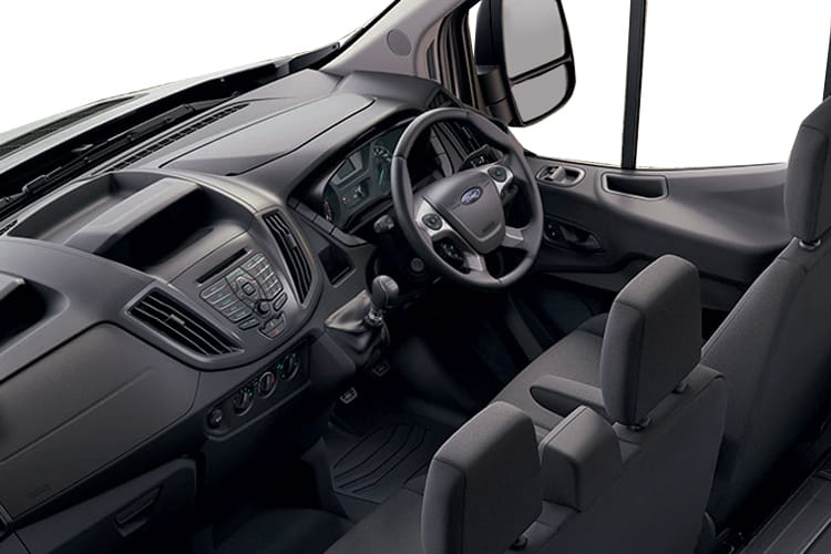 Ford Transit 350 L3 RWD 2.0 EcoBlue RWD 130PS Leader Tipper Manual [Start Stop] [1Way 1Stop Aluminium Tool Pod] inside view